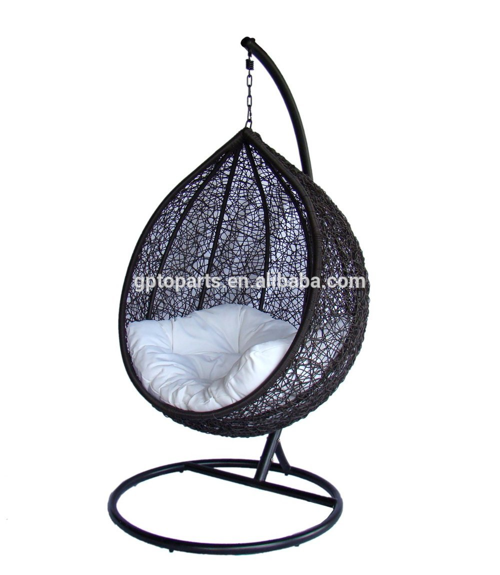 Garden swing for cheap hanging chair swing chair free for Chaise oeuf suspendu