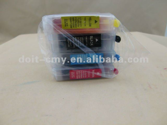 refill ink cartridge for brother printer dcp-j125