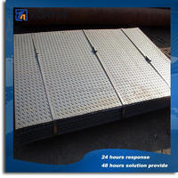standard weight of steel plate 6mm thick with hole punched