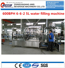 Drinking Water PET Bottle Filling Machine 5L