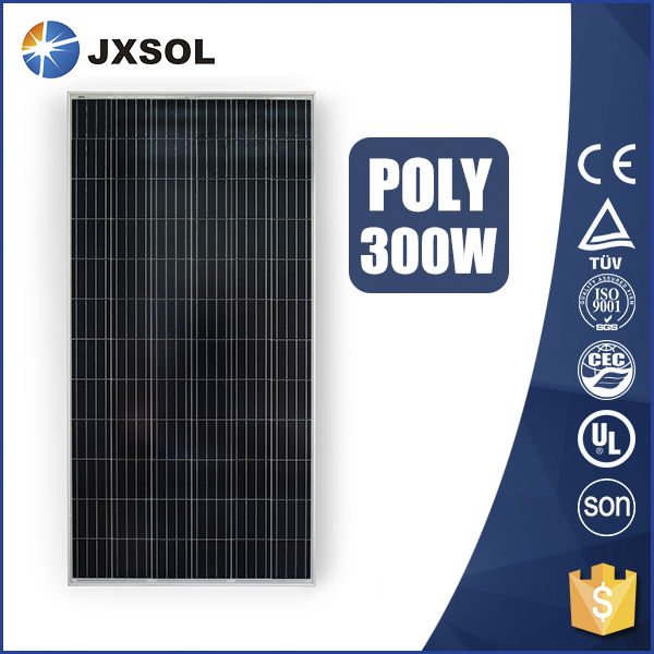 Competitive price poly silicon celdas solares 300w poly solar panel for home power