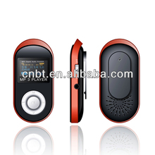 mp3 players with long battery life Two-color LCM display