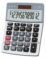 12 digits promotion office desktop calculator cover KT-6V