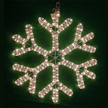 Warm White snowflake light effect