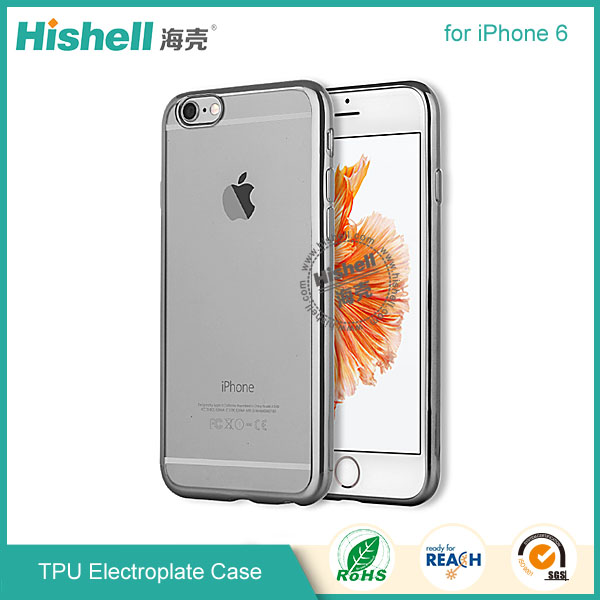 for iphone 6 TPU electroplating case