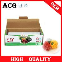 Fruits and vegetables manual hand mini roll stretch film for middle east