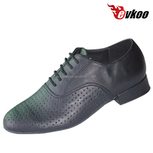 good quality men modern soft genuine leather salsa dance shoes wholesale price