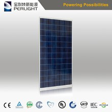 Perlight Low Price 310w 72cells Poly Solar Panel for Small Custom solar panel in China