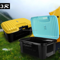 Automobile use large capacity assembly storage box