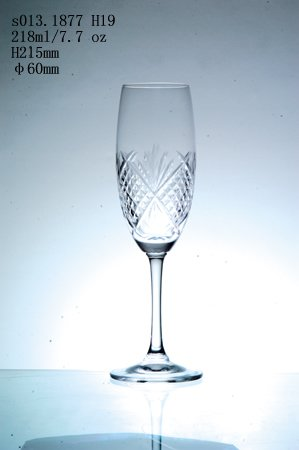 engraving champagne glass cup