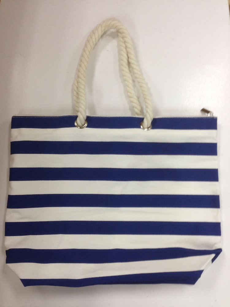 popular cotton canvas beach bag
