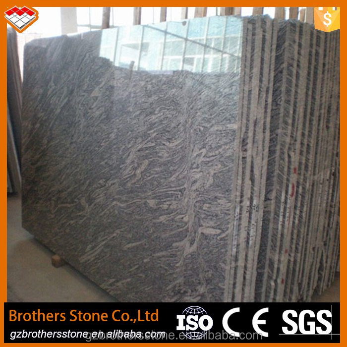 China juparana ocean wave grey granite hoar veins