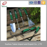 green TPRc handle all types of stainless steel farm garden bonsai tools set
