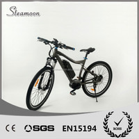 2016 high quality electric mountain bike ebike with 8fun mid drive motor and li-ion battery