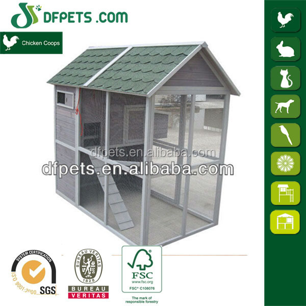 Chicken Poultry Shed Design DFC030