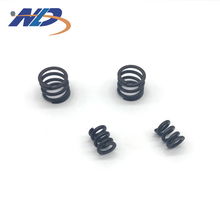Custom different types black 3mm compression springs
