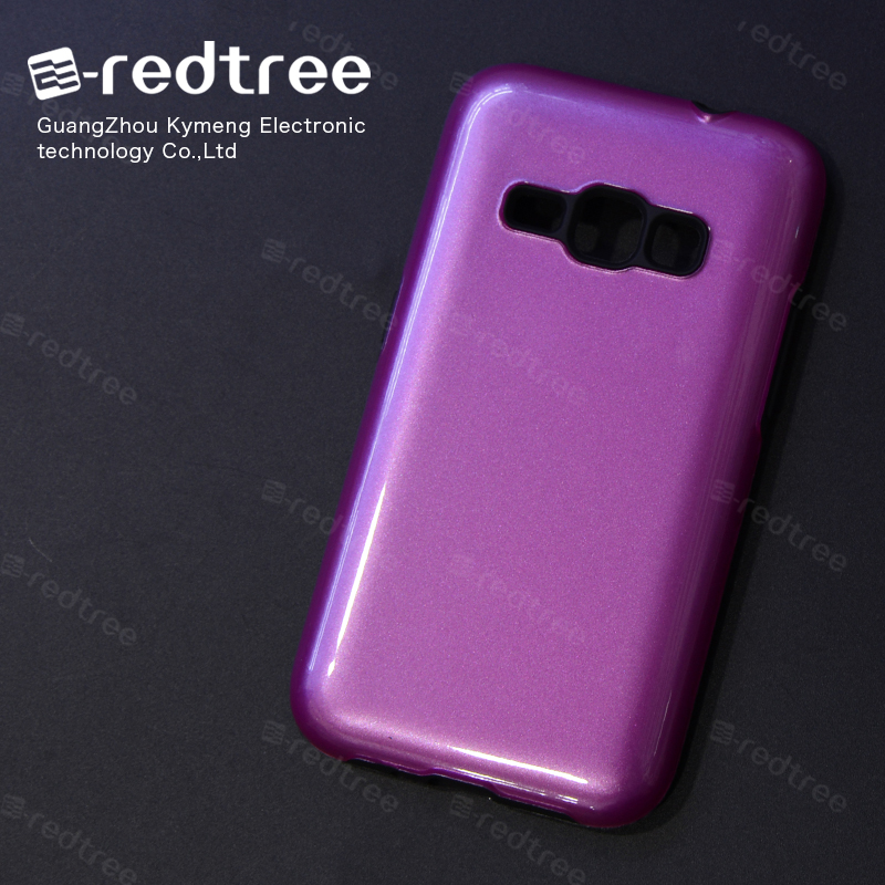 Glossy TPU+PC Sublimation mobile Phone Back Cover Case for Samsung Galaxy s2