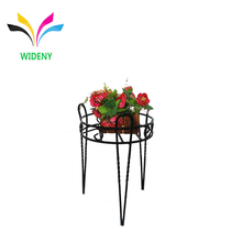 Out door garden stainless steel metal tall flower pot plant stand