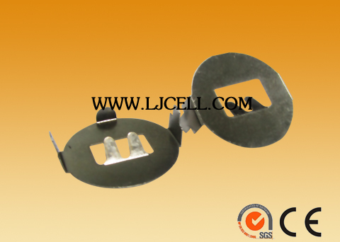3v cr2032 battery clips&Round Shape with bend pins / mounting SMD SMT DIP