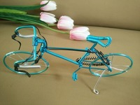 Creative arts and crafts/home decoration wrought iron bike