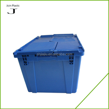 Heavy Duty 35kgs Stackable Plastic Office Storage Crates