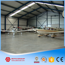 NEW ADTO Group Light Type Steel Structure Prefabricated Building Airplane Hangar Airport Storage Construction Wholesale For Sale
