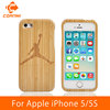 CORNMI For Apple iPhone 5 5S Real Bamboo Wooden Cases