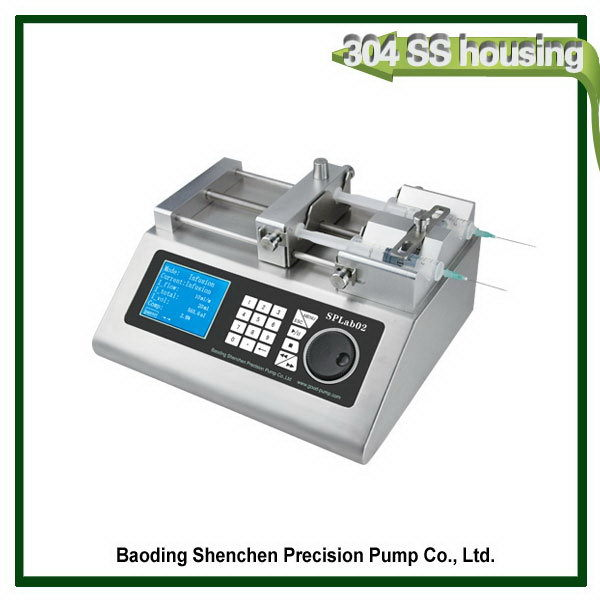 Alibaba china designer cheap price double channel syringe pump