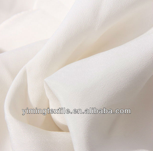 75D white chiffon of plain dyed fabric