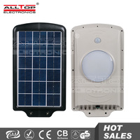 High quality ip65 waterproof outdoor induction 6w solar led light garden
