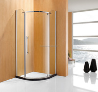 Free Standing Corner Glass Shower Room Enclosure