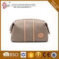 canvas cosmetic bag casual style Cosmetic bag for Europe market