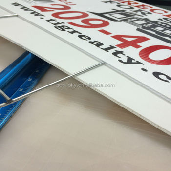 4ftx8ft Coroplast Sheet corflute sign for decoration