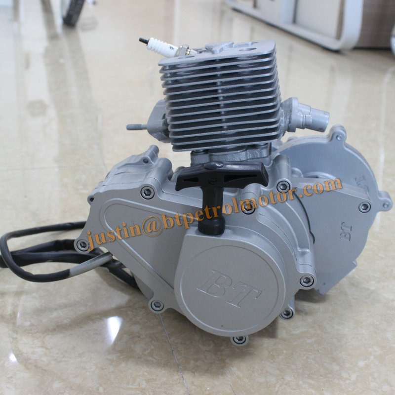 High Quality Bt80cc Wholesale gas motor 48cc 49cc 50cc 60cc 2 stroke 80cc Engine Kit scooter Manufacturers