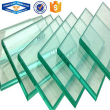 High quality 6mm 8mm custom size clear float tempered round toughened glass pieces