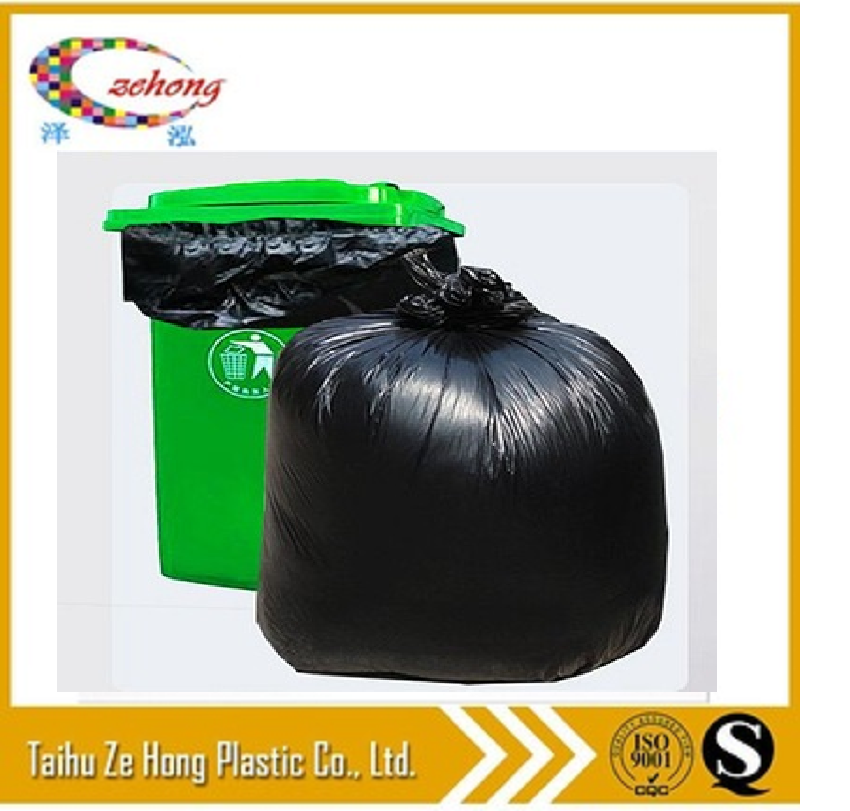 Factory Price PE biodegradable plastic rubbish/ garbage/ trash/refuse bag heavy duty China manufacturers
