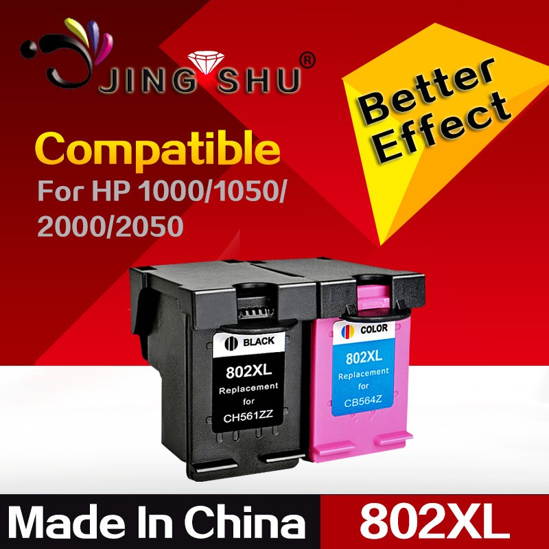 ink cartridge 802xl for hp Deskjet 1000/1050/2000/2050/2510/2540/3050/3510/3540/1510/510a/610a printer