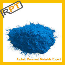 Colored road repair material / colored asphalt pavements (permanent color roads )