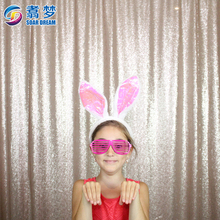 Attract photo booth background size photography backdrop curtain for wedding event party
