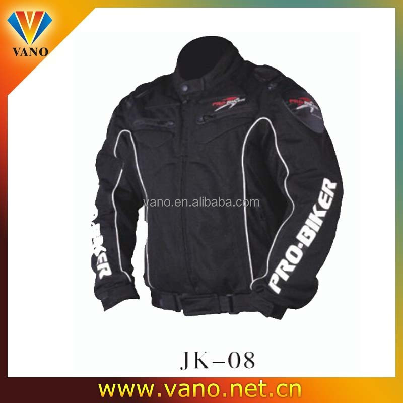 Summer air flow mesh motorcycle jacket with protective gear