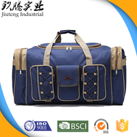 Fashion Waterproof Polyester Shoulder bag Travel Sport Pvc Luggage Duffle Bag Duffel Bag with OEM ODM