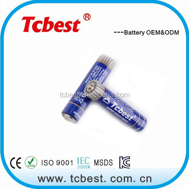 hot sale for zinc carbon r03 aaa 1 5v battery