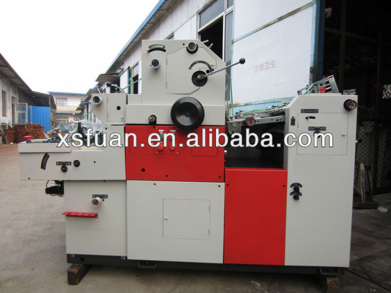 single color offset printing machine with Number