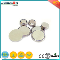 lithium ion button battery cr2032 with tags