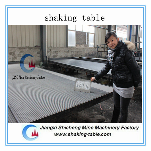 low price good quality manganese ore shaking table