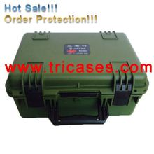 CE ISO9001 FDA SGS type M2360 injection molded hard plastic case, waterproof IP67 shockproof equipment case