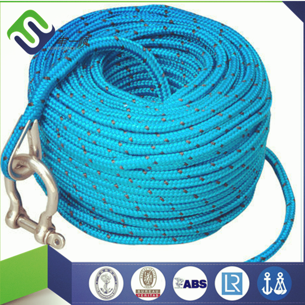 Nylon dock line / anchor rope / briaded nylon rope