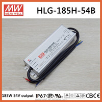 HLG-185H-54B Meanwell 185W 54V IP66 led driver