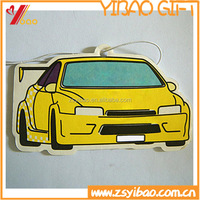 Customized Design Hanging Air Freshener/Custom Paper Car Air Freshener