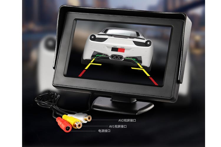 Hot Sale 4.3 inch LCD Car Monitor With 3 Years Guarantee